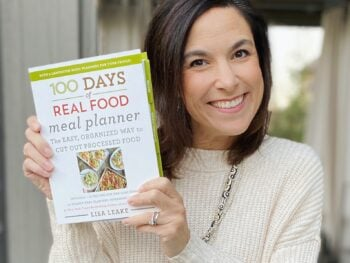 100 Days of Real Food Meal Planner Workbook