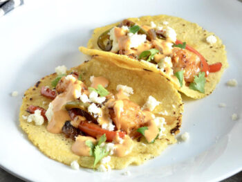 Easy Shrimp Tacos on 100 Days of Real Food