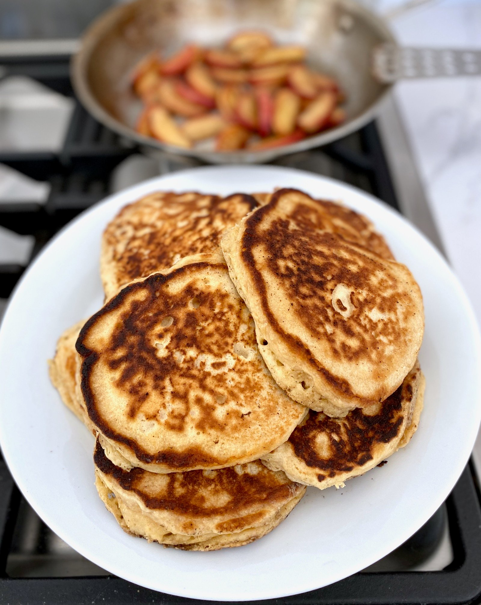 Buttermilk Pancakes on 100 Days of Real Food