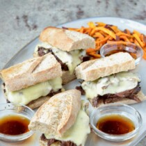 Slow Cooker French Dip on 100 Days of Real Food