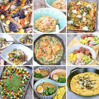 25 Easy Ideas for What should we have for dinner on 100 Days of Real Food