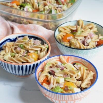 Easy-Italian-Pasta-Salad-on-100-Days-of-Real-Food