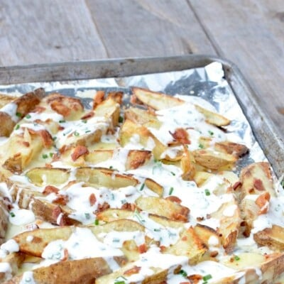 """Oven-Baked Cheese """"Fries"""" on 100 Days of Real Food"""