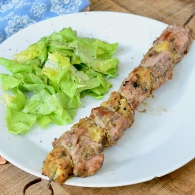 Pork and Pineapple Kabobs on 100 Days of Real Food